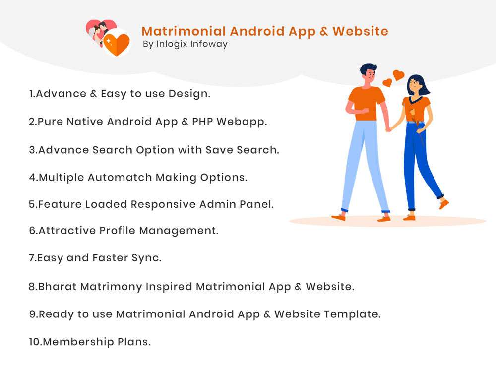 Matrimonial Android App Development - Matrimonial PHP Source Code - Premium